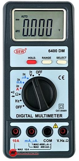 Review Spesifikasi dan Harga Jual SEW Digital Multimeters 6400 DM original termurah dan bergaransi resmi