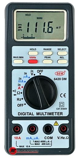 Review Spesifikasi dan Harga Jual SEW Digital Multimeters 6420 DM original termurah dan bergaransi resmi