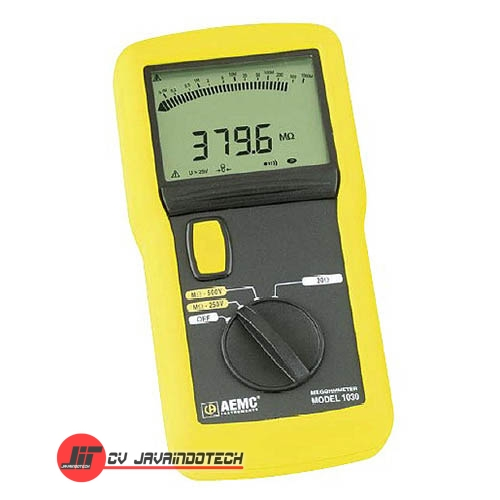 Review Spesifikasi dan Harga Jual AEMC 1030 (250V-500V) Megohmmeter - Insulation Tester original termurah dan bergaransi resmi