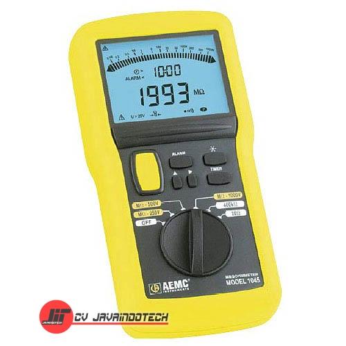 Review Spesifikasi dan Harga Jual AEMC 1045 (1000V) Analog/Digital Megohmmeter - Insulation Resistance Tester original termurah dan bergaransi resmi