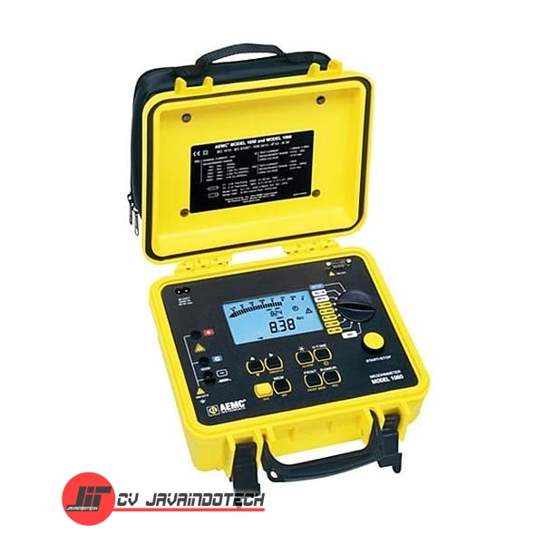 Review Spesifikasi dan Harga Jual AEMC 1050 (1000V) Analog/Digital Megohmmeter - Insulation Tester original termurah dan bergaransi resmi