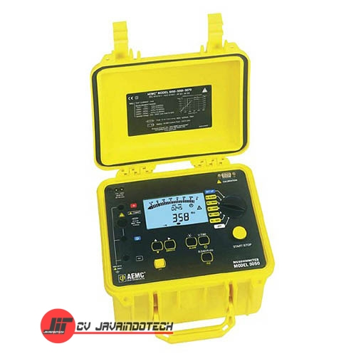 Review Spesifikasi dan Harga Jual AEMC 5050 (5000V) Digital/Analog Megohmmeter - Insulation Tester original termurah dan bergaransi resmi