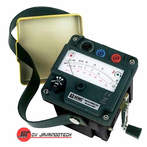 Review Spesifikasi dan Harga Jual AEMC 6501 (500V) Hand Crank Megohmmeter / Insulation Tester original termurah dan bergaransi resmi
