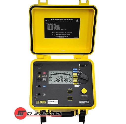 Review Spesifikasi dan Harga Jual AEMC 6505 (5000V) Megohmmeter / Insulation Tester original termurah dan bergaransi resmi