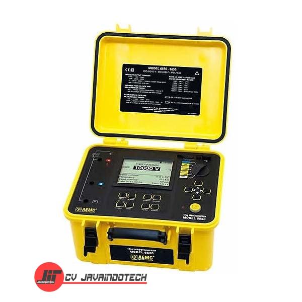Review Spesifikasi dan Harga Jual AEMC 6550 (10000V) Digital Megohmmeter original termurah dan bergaransi resmi