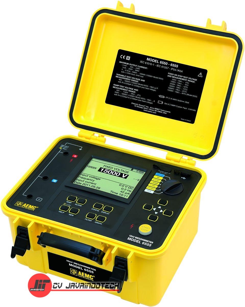 Review Spesifikasi dan Harga Jual AEMC 6555 (15000V) Digital Megohmmeter original termurah dan bergaransi resmi