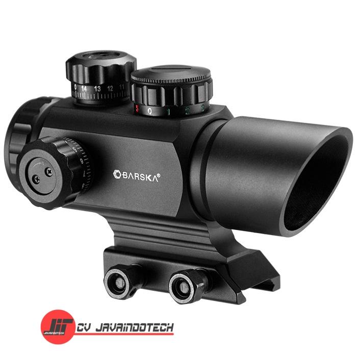 Review Spesifikasi dan Harga Jual Barska AR-X 1x35mm Multi-Reticle Red/Green Dot Scope original termurah dan bergaransi resmi