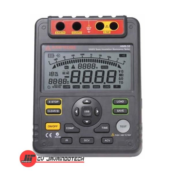 Review Spesifikasi dan Harga Jual Amprobe AMB-50 5000V Basic Insulation Resistance Tester original termurah dan bergaransi resmi