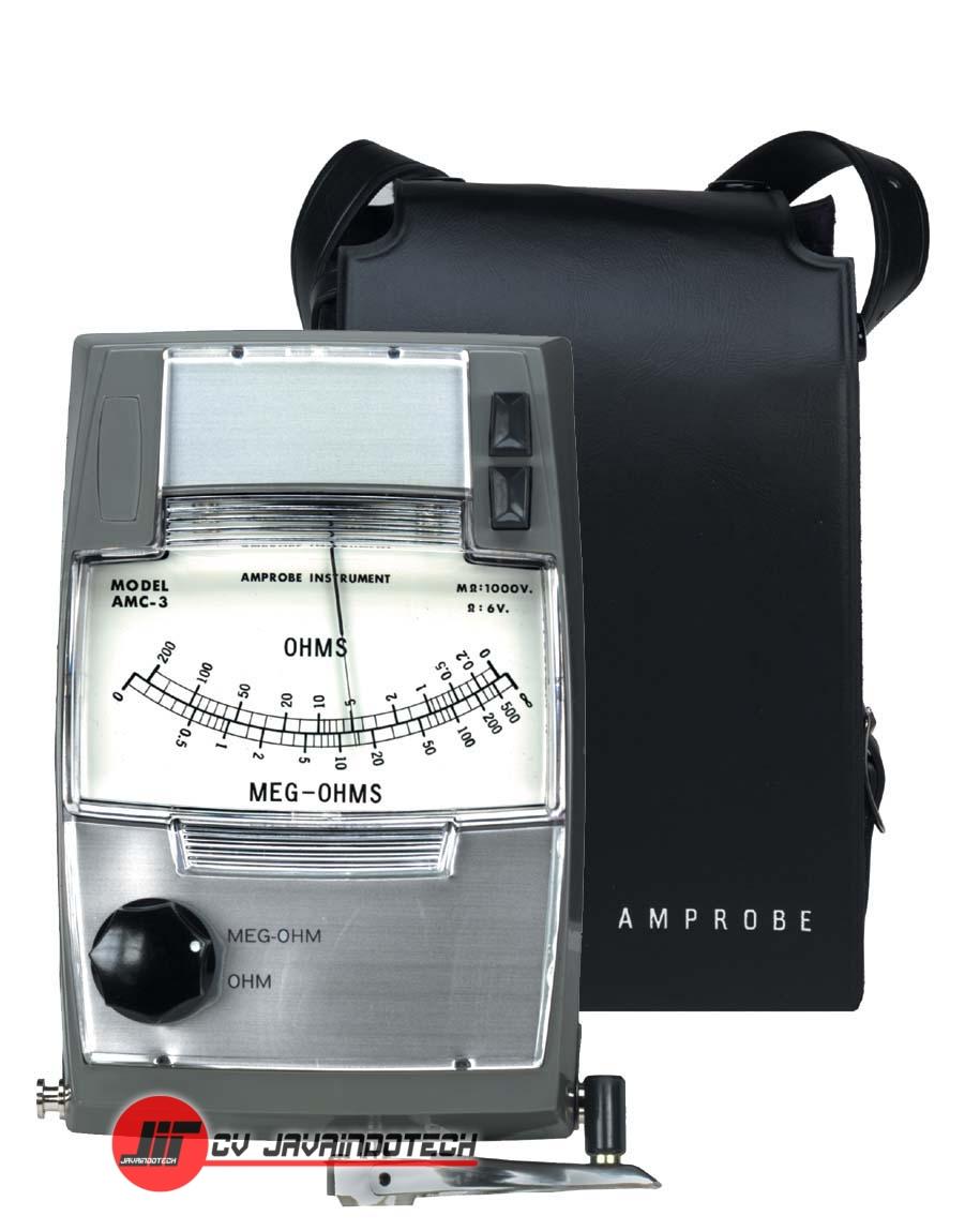 Review Spesifikasi dan Harga Jual Amprobe AMC-3 Hand-Cranked Insulation Tester original termurah dan bergaransi resmi