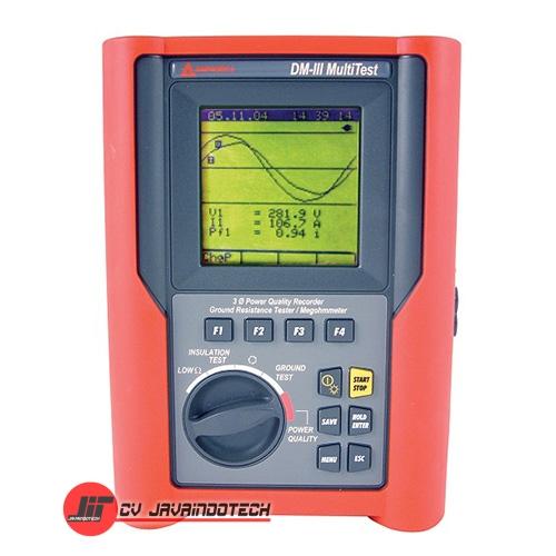 Review Spesifikasi dan Harga Jual Amprobe DM-III Multitest F 3000A Power Quality Recorder original termurah dan bergaransi resmi