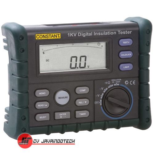 Review Spesifikasi dan Harga Jual CONSTANT MEGGER - DIGITAL INSULATION TESTER 1KV -1000 VOLT original termurah dan bergaransi resmi