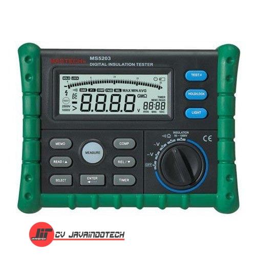 Review Spesifikasi dan Harga Jual Mastech MS5203 Digital Insulation Tester original termurah dan bergaransi resmi