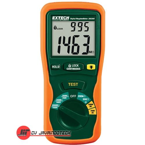 Review Spesifikasi dan Harga Jual Extech 380260 Handheld Megohmmeter original termurah dan bergaransi resmi