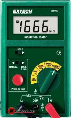 Review Spesifikasi dan Harga Jual Extech 380360-NIST Insulation Tester-Megohmmeter original termurah dan bergaransi resmi