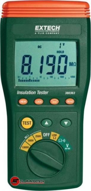 Review Spesifikasi dan Harga Jual Extech 380363 Digital Insulation Tester original termurah dan bergaransi resmi