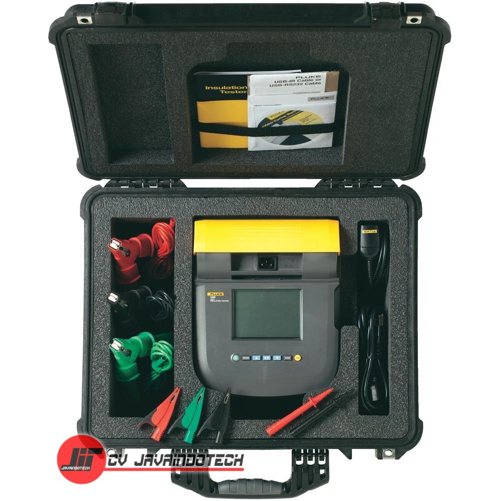 Review Spesifikasi dan Harga Jual Fluke 1555 Insulation Resistance Tester 10 kV with Kit original termurah dan bergaransi resmi