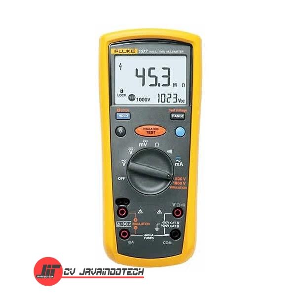 Review Spesifikasi dan Harga Jual Fluke 1577 Insulation Multimeter MegOhm Meter Combo original termurah dan bergaransi resmi