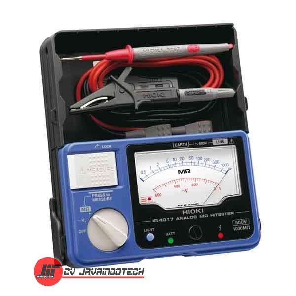 Review Spesifikasi dan Harga Jual Hioki IR401720 Analog Megohm Meter HiTester 1000 M-Ohms original termurah dan bergaransi resmi