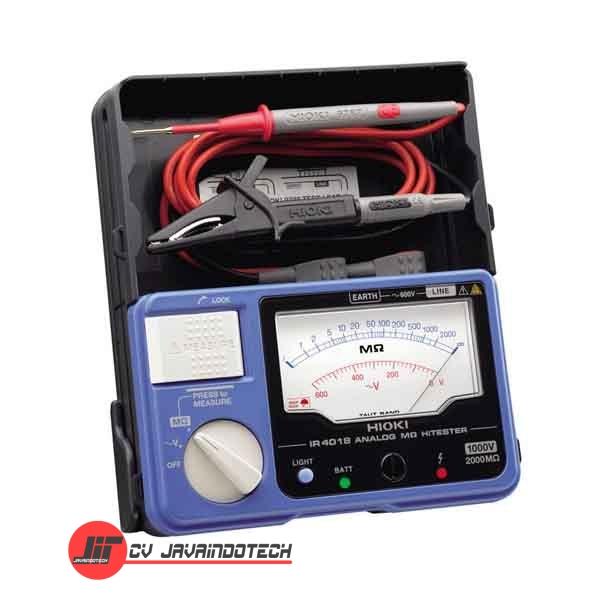 Review Spesifikasi dan Harga Jual Hioki IR401820 Analog Megohm Meter HiTester 2000 M-Ohms original termurah dan bergaransi resmi