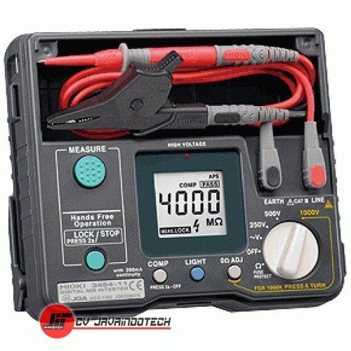 Review Spesifikasi dan Harga Jual Hioki 3454-11 Digital Meg-ohm Meter original termurah dan bergaransi resmi