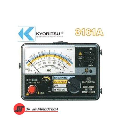 Review Spesifikasi dan Harga Jual Kyoritsu 3161A Analog Insulation original termurah dan bergaransi resmi