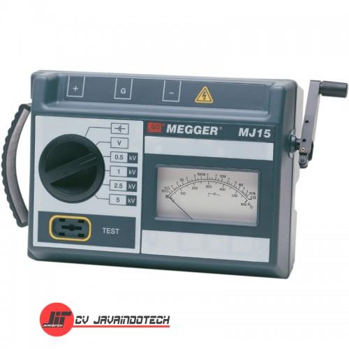 Review Spesifikasi dan Harga Jual Megger MJ15 Analogue 5kV Insulation Tester original termurah dan bergaransi resmi