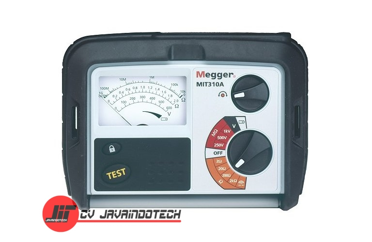 Review Spesifikasi dan Harga Jual Megger MIT310A 250/500/1000 V Analog Insulation original termurah dan bergaransi resmi