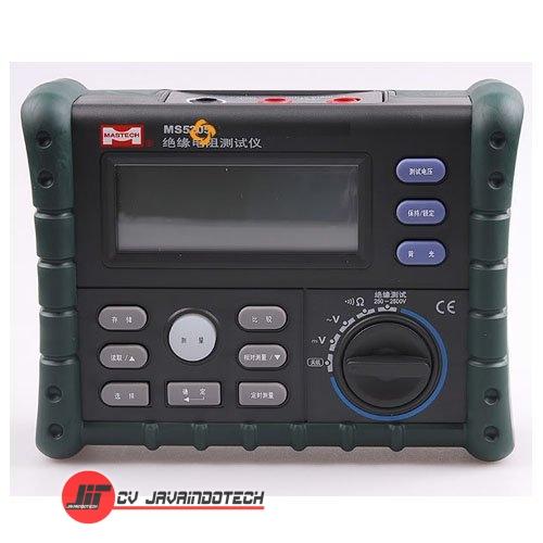 Review Spesifikasi dan Harga Jual Mastech MS5205 Digital Insulation Resistance Multimeter original termurah dan bergaransi resmi