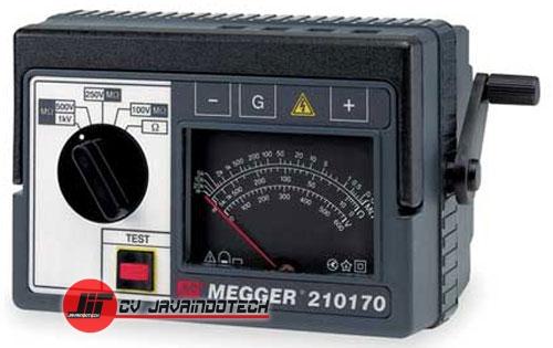 Review Spesifikasi dan Harga Jual Megger 210170 Hand-Crank Analog Major Megger Insulation Tester original termurah dan bergaransi resmi