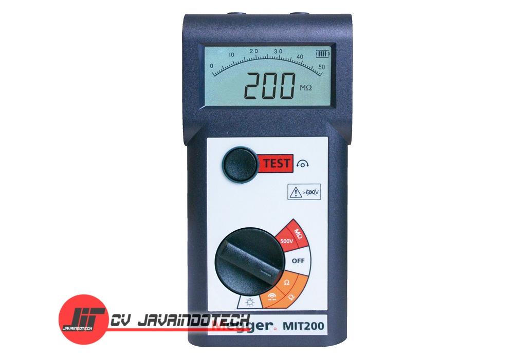 Review Spesifikasi dan Harga Jual Megger MIT200 500V Digital / Analog Insulation & Continuity Tester original termurah dan bergaransi resmi