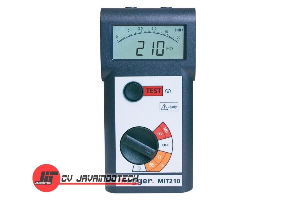 Review Spesifikasi dan Harga Jual Megger MIT210 1000V Digital / Analog Insulation & Continuity Tester original termurah dan bergaransi resmi