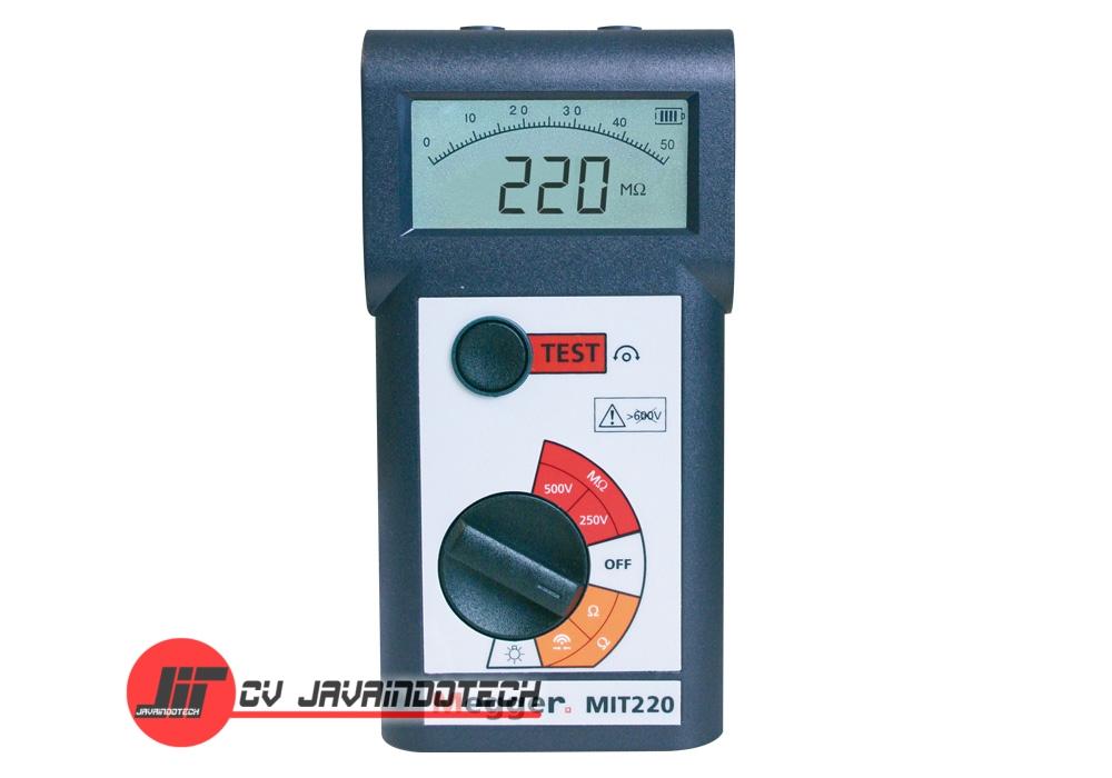 Review Spesifikasi dan Harga Jual Megger MIT220 250V/500V Digital / Analog Insulation & Continuity Tester original termurah dan bergaransi resmi