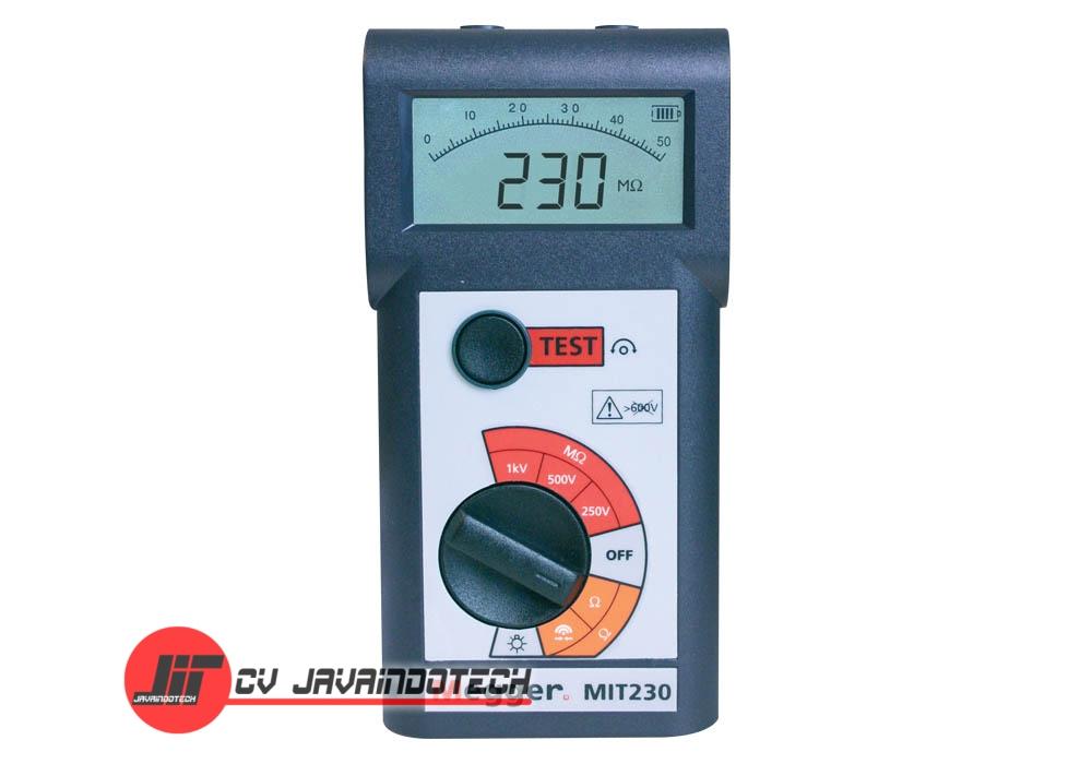 Review Spesifikasi dan Harga Jual Megger MIT230 250V/500V/1000V Digital / Analog Insulation & Continuity Tester original termurah dan bergaransi resmi