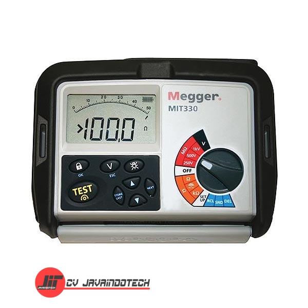 Review Spesifikasi dan Harga Jual Megger MIT330 250/500/1000 V Insulation original termurah dan bergaransi resmi