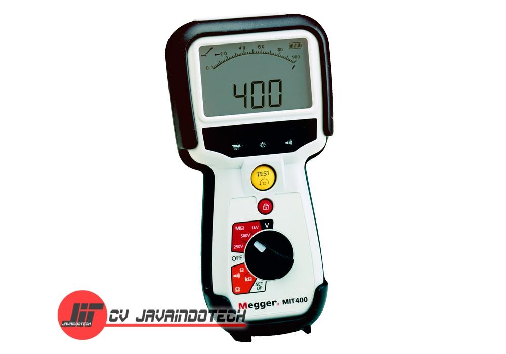 Review Spesifikasi dan Harga Jual Megger MIT400 250/500/1000V Insulation original termurah dan bergaransi resmi