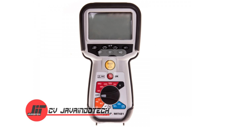 Review Spesifikasi dan Harga Jual Megger MIT481 Telecommunications Insulation Tester original termurah dan bergaransi resmi