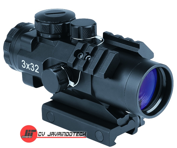 Review Spesifikasi dan Harga Jual Bosma Prism Scope 3x32 for Tactical Shooting w/ Three Rails original termurah dan bergaransi resmi