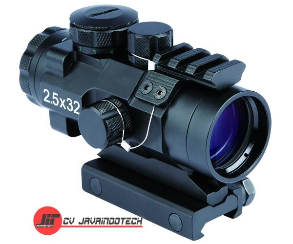 Review Spesifikasi dan Harga Jual Bosma Prismatic Riflescope 2.5x32 w/Red/Green Illumination Dot Reticle original termurah dan bergaransi resmi