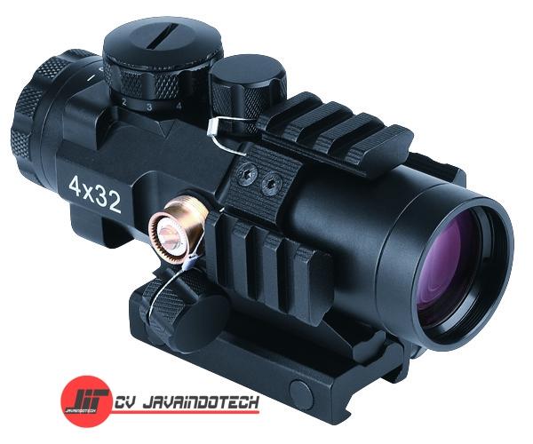 Review Spesifikasi dan Harga Jual Bosma Prismatic Riflescope 429103 4x32 Tactical Shooting original termurah dan bergaransi resmi