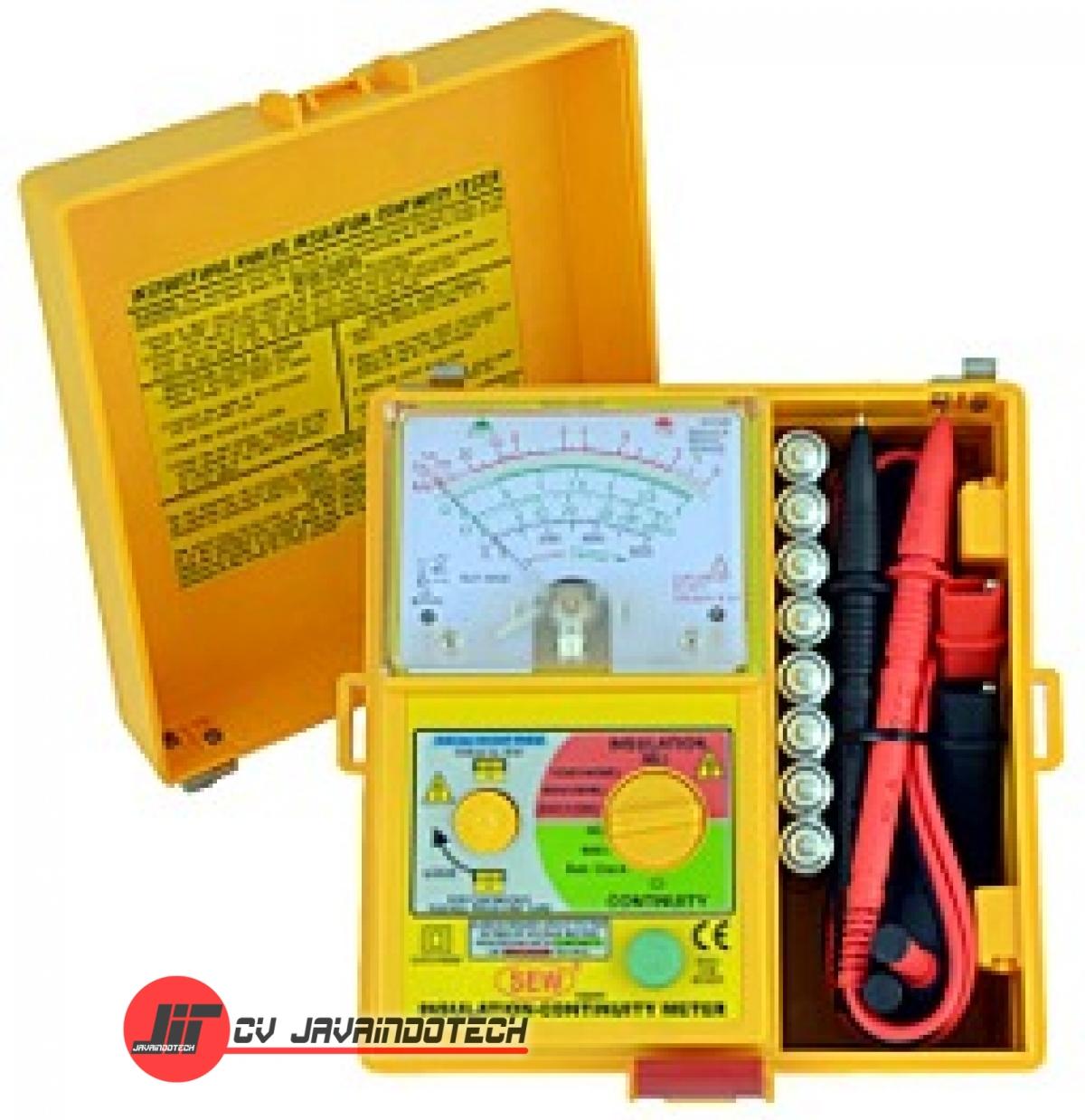 Review Spesifikasi dan Harga Jual SEW Analog Insulation Tester 1832 IN original termurah dan bergaransi resmi