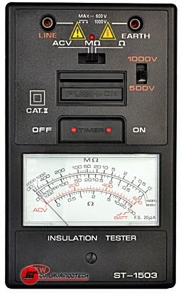 Review Spesifikasi dan Harga Jual SEW Analogue (1kV below) Insulation Testers ST-1503 original termurah dan bergaransi resmi