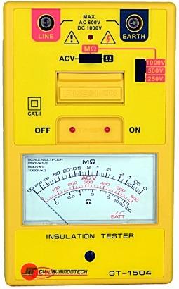 Review Spesifikasi dan Harga Jual SEW Analogue (1kV below) Insulation Testers ST-1504 original termurah dan bergaransi resmi