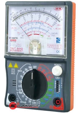 Review Spesifikasi dan Harga Jual SEW Analogue Multimeters ST-368TR original termurah dan bergaransi resmi