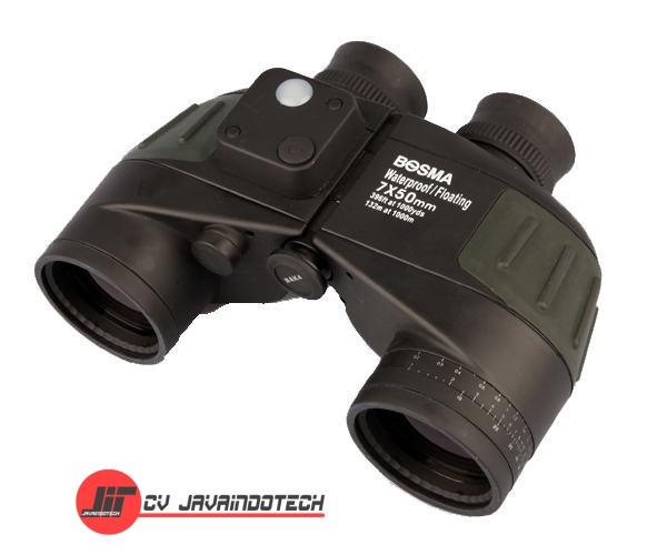Review Spesifikasi dan Harga Jual Bosma Waterproof Marine Binoculars 7x50 w/Compass & Floating Strap original termurah dan bergaransi resmi