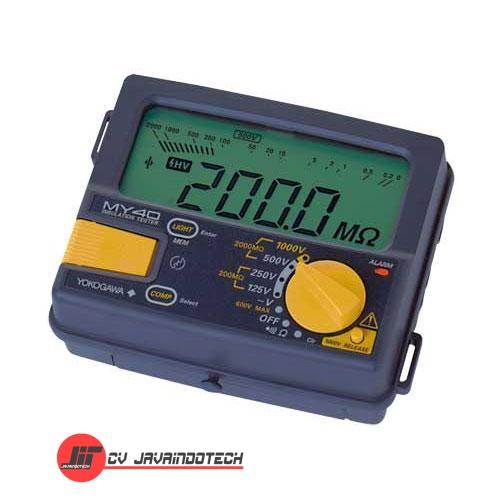 Review Spesifikasi dan Harga Jual Yokogawa MY40-01 Digital Insulation Tester original termurah dan bergaransi resmi