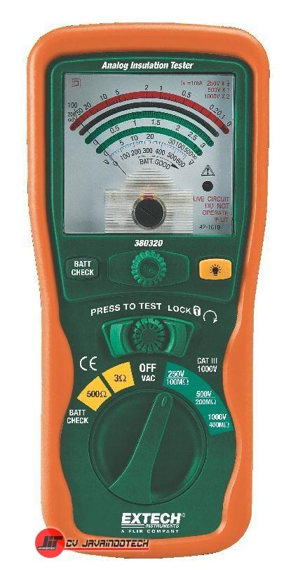 Review Spesifikasi dan Harga Jual Extech 380320 Analog Insulation Tester original termurah dan bergaransi resmi